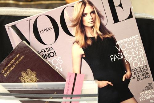 mon premier achat ...le Vogue Espagne of course!